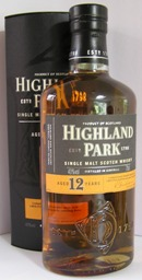 Highland Park 12 Year Old single Orkney Island Malt Whisky