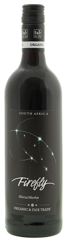 Firefly Shiraz Merlot 2020 South Africa Fairtrade and Organic