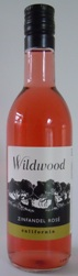 Mini Bottle 187.5ml Wildwood ZINFANDEL ROSE 2017 California