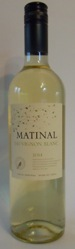 MATINAL  Sauvignon Blanc Valle Central Chile 2018