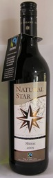 Natural Star SHIRAZ 2015 South Africa Fairtrade & Organic