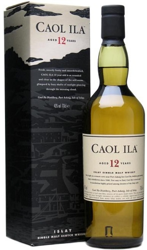 Caol Ila 12 Year Old Single Islay Malt Whisky