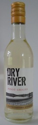 Mini Bottle 187.5ml Dry River PINOT GRIGIO 2016 South East Australia