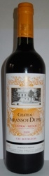 Chateau Saransot-Dupre Listrac Medoc AC 2010
