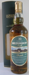 Milton Duff 10 Year Old Single Speyside Malt Whisky