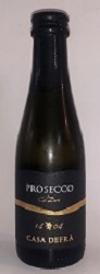 Prosecco Frizzante Casa Defra Mini Bottle