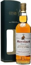 Mortlach Single Speyside Malt Scotch Whisky 15 Years Old
