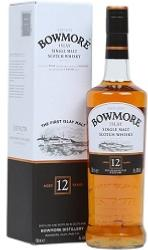 Bowmore 12 Year Old Single Islay Malt Whisky