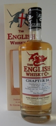 Chapter 14 Rare English Single Malt Whisky 3 Years Old , non - peated