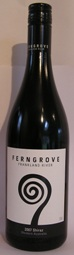 Ferngrove Estate SHIRAZ 2011 Frankland  Valley Western Australia