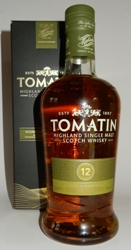 Tomatin Single Highland Malt Whisky 12 Year Old