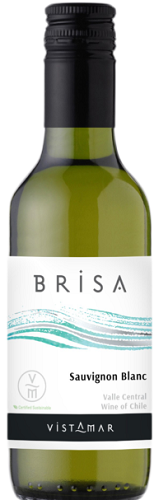 Mini Bottle 187.5ml Vistamar Sauvignon Blanc 'Brisa' 2019 Chile