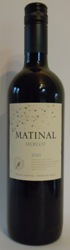 MATINAL MERLOT 2017 Valle Central Chile